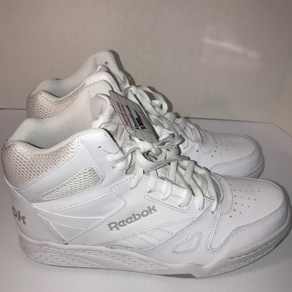 Reebok Mens Royal BB4500 High White Steel 8.5 M US d3112bceb